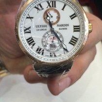 Ulysse Nardin Maxi Marine Chronometer 18k Rose Gold Men' s...