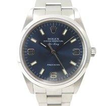 Ρολεξ (Rolex) Airking 14000 Blue dial and Explorer indexes
