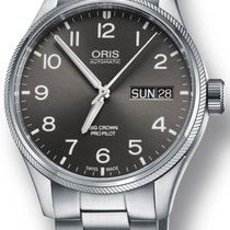 Oris Big Crown ProPilot Day Date Grey Dial Men's Watch