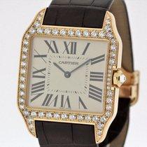 Cartier Santos Dumont 18K Rose Gold GM SERVICED Warranty 2650