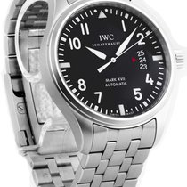 IWC Schaffhausen Pilots Mark XVII Automatic Midsize Steel Men...