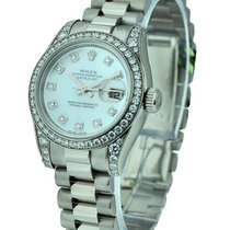 Rolex Unworn 179159 Ladies President - Diamond Bezel and Lugs...