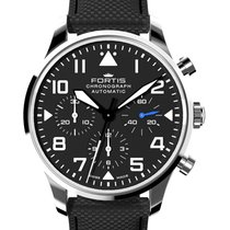 Fortis Aviatis Pilot Classic Chronograph 41mm Swiss Automatic...