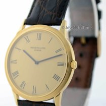 Patek Philippe Vintage Calatrava Automatic 18k Yellow Gold...