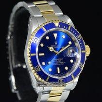 勞力士 (Rolex) SUBMARINER DATE ACCIAIO E ORO Ref. 16613 BLU