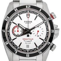 Tudor 20550N-95730WHI IND Grantour Chronograph Flyback White...