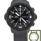 IWC Aquatimer Chronograph Edition Galapagos black NEW