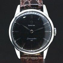 Omega Seemaster 30 black Dial Handaufzug Kaliber 284 von 1962