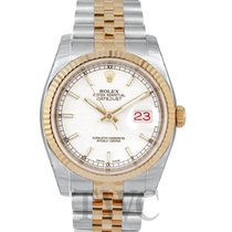 롤렉스 (Rolex) Datejust Gold/Steel White/18k gold Ø36 mm - 116233