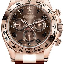 Rolex Oyster Perpetual Cosmograph Daytona Rose Gold Chocolate...