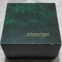 Audemars Piguet vintage green leather watch box complete...
