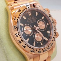 Rolex Daytona 116505 18k Rose Gold Cosmograph Oyster Perpetual...