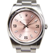 Rolex Oyster Perpetual Stainless Steel Pink Automatic 114200PK...