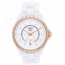 Chanel J12 White Ceramic Watch H4359