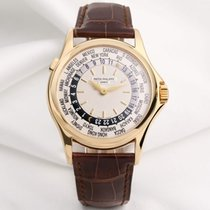 Patek Philippe World Time 5110J 18k Yellow Gold