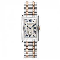 Longines DolceVita Quartz Stainless Steel Silver Dial Ladies...