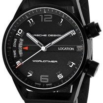 Porsche Design Worldtimer GMT Automatic Black Mens Watch...