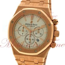 Audemars Piguet Royal Oak Chronograph, Silver Dial - Rose Gold...