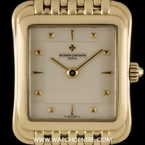 Vacheron Constantin 18k Yellow Gold Silver Dial Toledo Ladies...