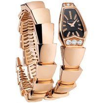 Bulgari Serpenti Jewelery Scaglie 26mm 18k Rose Gold
