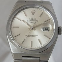 Rolex DateJust Steel Oyster Quartz 36mm Silver Date Dial