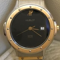 Hublot – classic unisex watch – steel and yellow gold – 32 mm