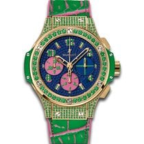 Hublot Big Bang Pop Art 41mm Automatic 18k Yellow Gold Set w