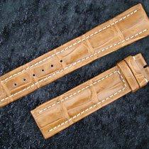 Breitling Croco Armband 20/18mm Braun Neupreis Über 500,00...