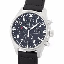 IWC Pilot Chronograph Day Date Steel 43MM