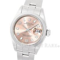 ロレックス (Rolex) Oyster Perpetual Lady Date Pink Dial Steel 26MM...