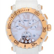 Chopard Happy Sport Round Diamond Quartz Chronograph Ladies...
