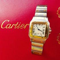 Cartier Santos 29mm Steel/Gold 18K 750 Luxury Mens Watch