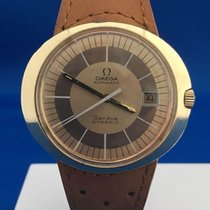 Omega — Geneve Dynamic - Gold plated- Golden dial - Automatic-...