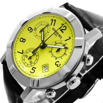 Raymond Weil GENEVE PARSIFAL W1 CHRONOGRAPH LIME-GREEN SAPHIR...