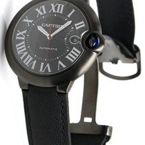 Cartier Ballon Bleu Black Dial Fabric Automatic Men's...