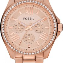 Fossil CECILE AM4483 Damenarmbanduhr Mit Zirkonen