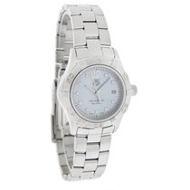 TAG Heuer Aquaracer Ladies Diamond Swiss Quartz Watch WAF1419....