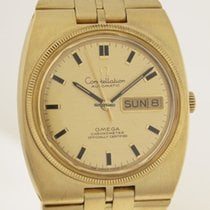 Omega Constellation 18ct Gold Herren Armbanduhr 149 g