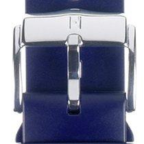 Hirsch Uhrenarmband Kautschuk Pure L blau 40538880-2-20 20mm