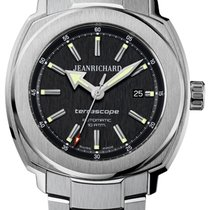 JeanRichard Terrascope Black Dial