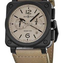 Bell & Ross Aviation Men's Watch BR0394-DESERT-CE