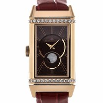 Jaeger-LeCoultre Reverso One Duetto 40 Red Leather