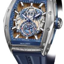 Cvstos Challenge Sealiner GMT Men's Watch, Steel with...
