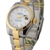 Rolex Unworn 179173 Ladys 2-Tone SS/YGDatejust with Oyster...