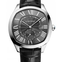 Cartier WSNM0006 Drive de Cartier in Steel - On Black Alligato...