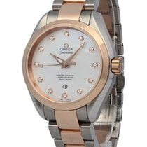 Omega Aqua Terra Seamaster Two-Tone Ladies Watch 231.20.34.20....