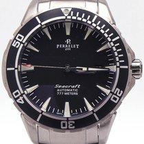 Perrelet Seacraft Diver Black Dial On Bracelet 777 Meter