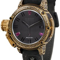 U-Boat Chimera 40 Gold Bezel Black Diamond Limited Edition