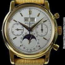 Patek Philippe 2499/100 18k Perpetual Calendar Chronograph