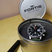 Fortis Pilot Flieger Crono-Day-Date